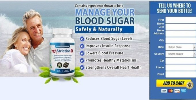 StrictionD Blood Sugar Management