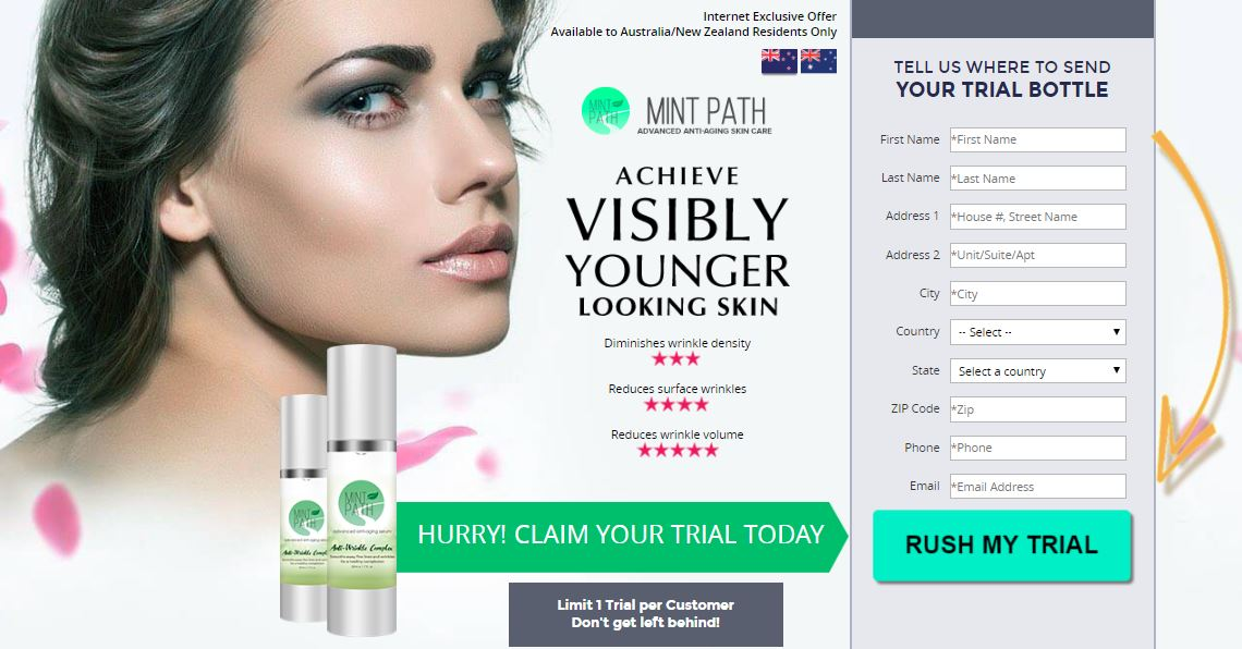 Mint Path Anti-Aging Serum