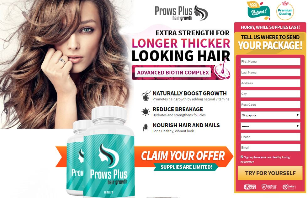 Prows Plus Hair Growth