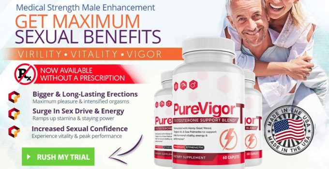 PurevigorT testosterone support blend