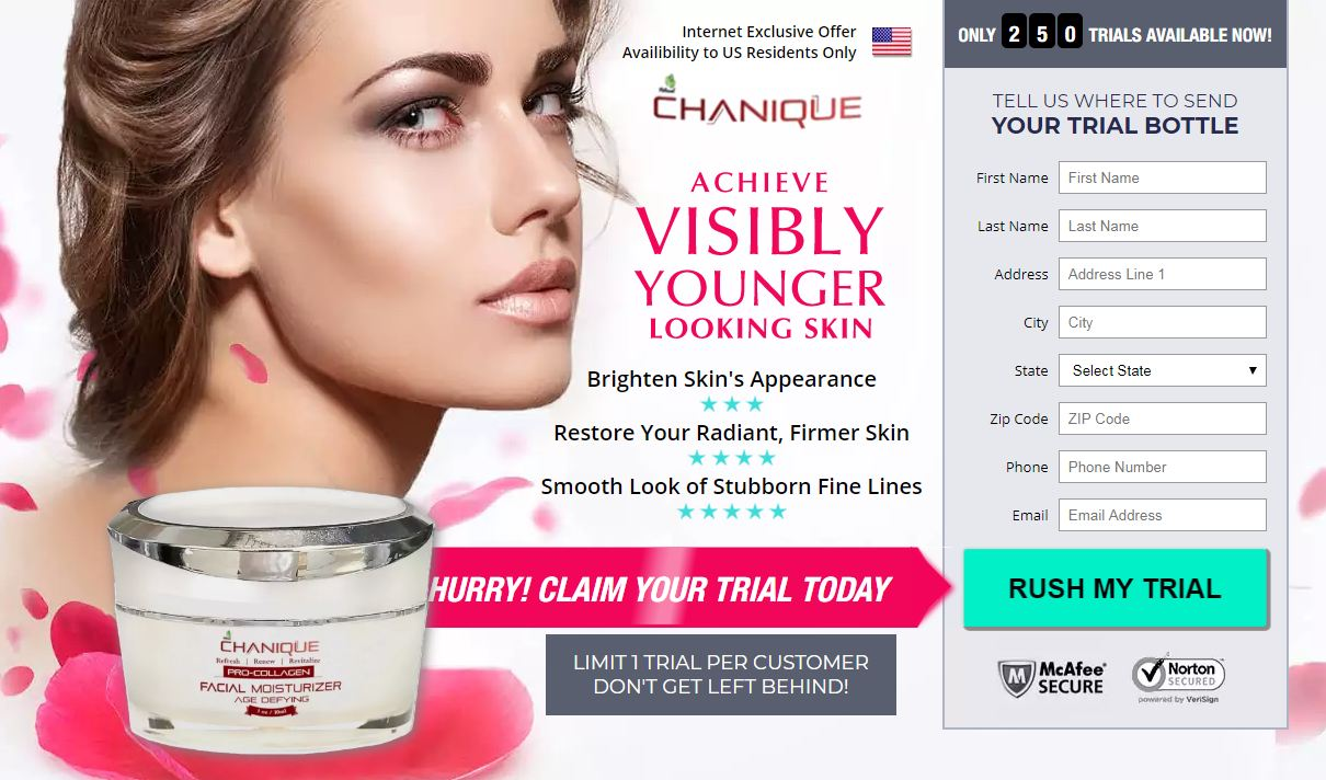 Chanique Facial Moisturizer Cream
