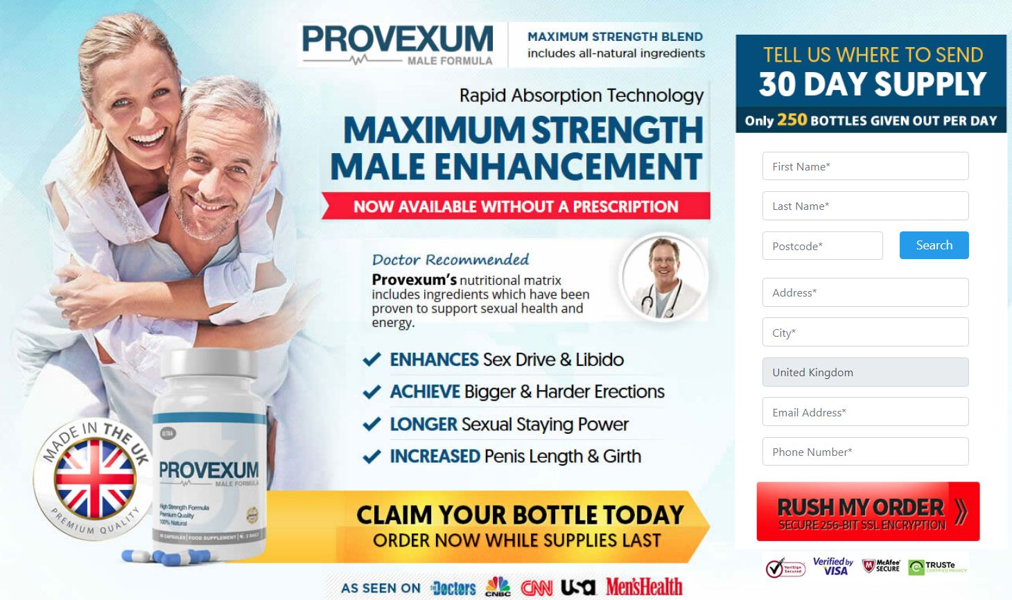 Provexum Male Enhancement Formula