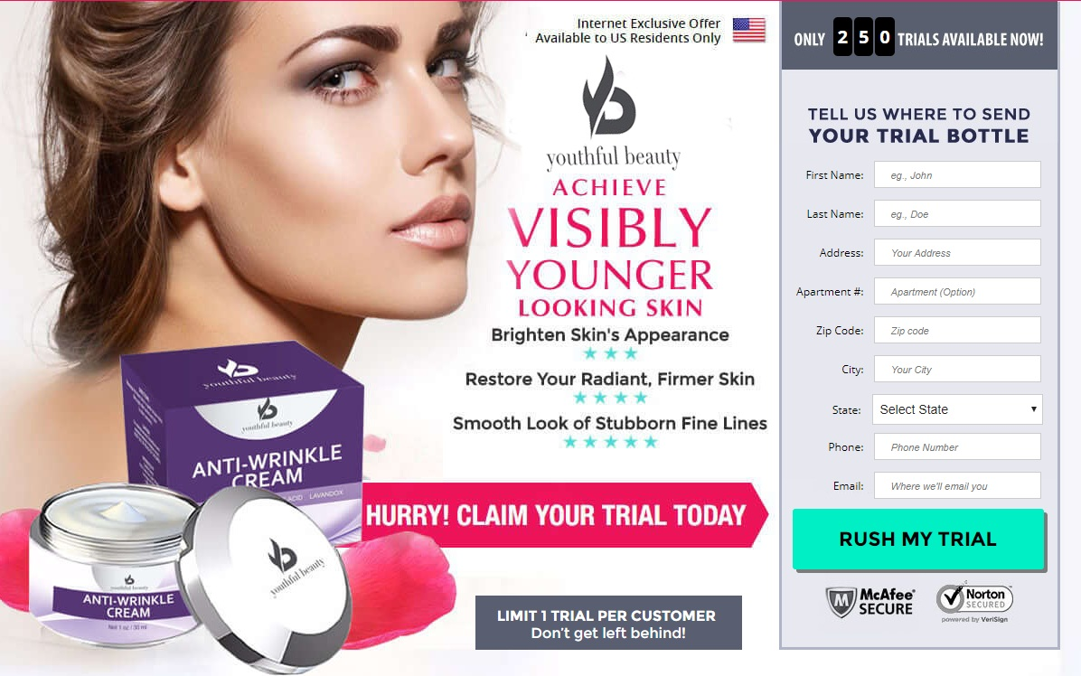 Youthful Beauty Anti-Wrinkle Cream