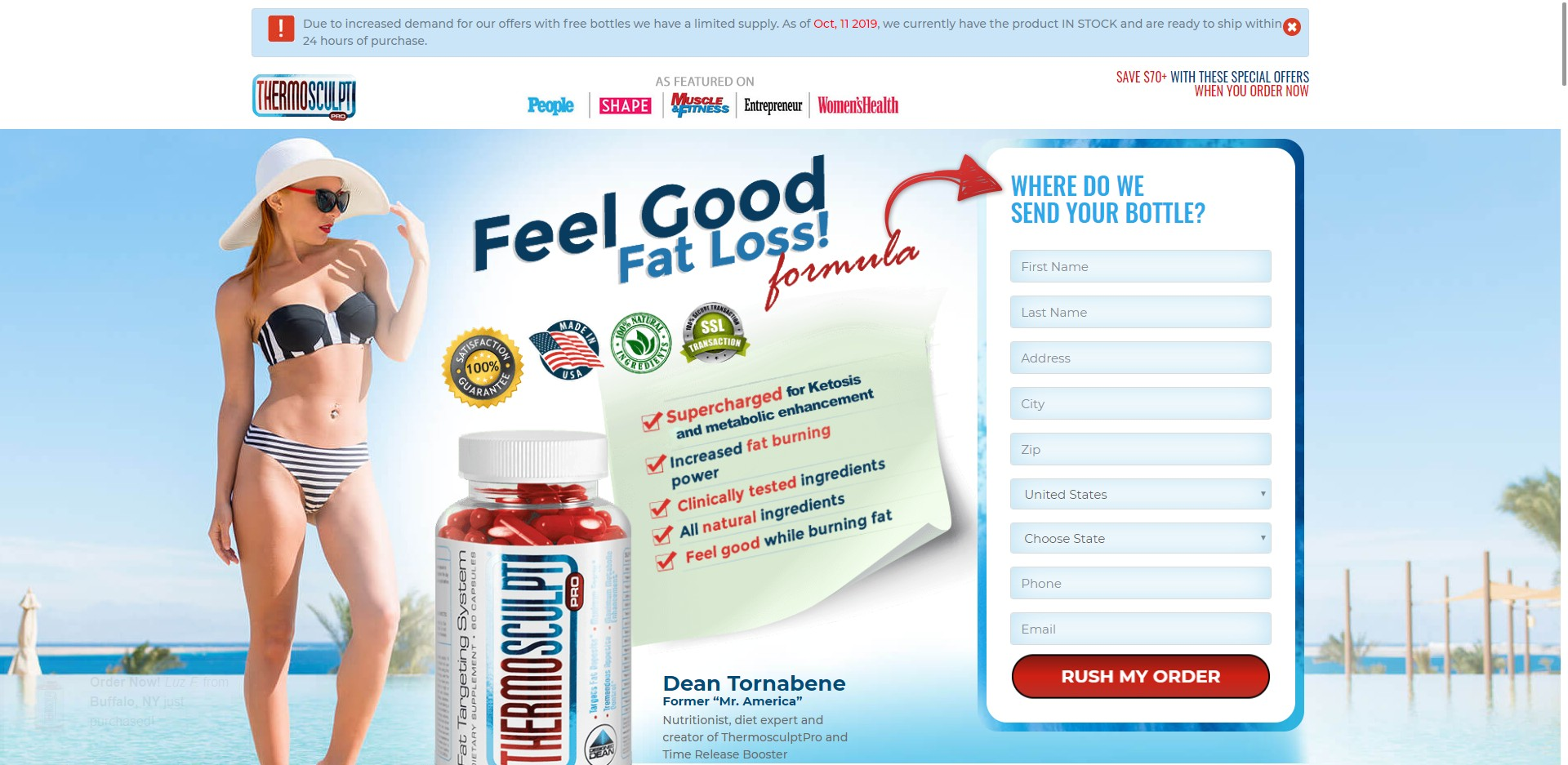 Thermosculpt Pro Diet