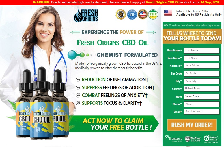 Fresh Origins CBD OIL