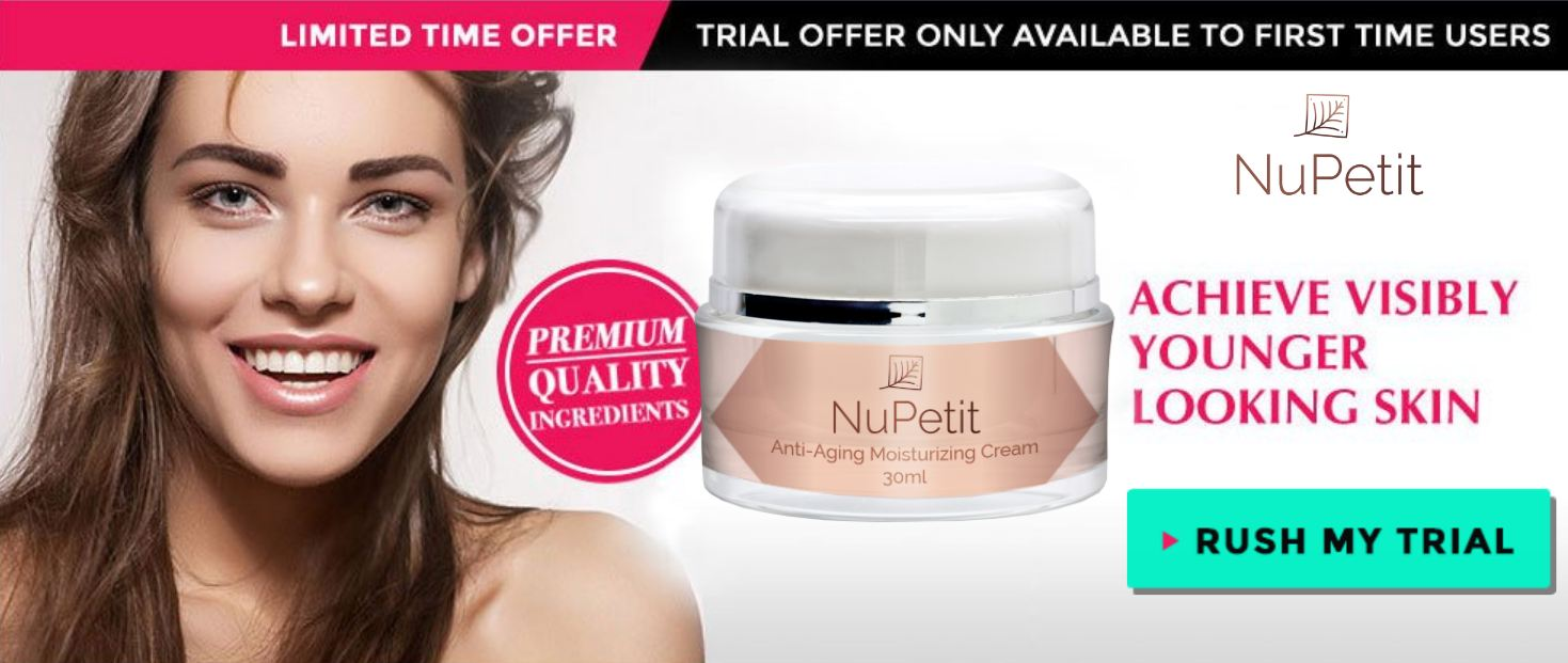NuPetit Anti Aging Moisturizing Cream trial