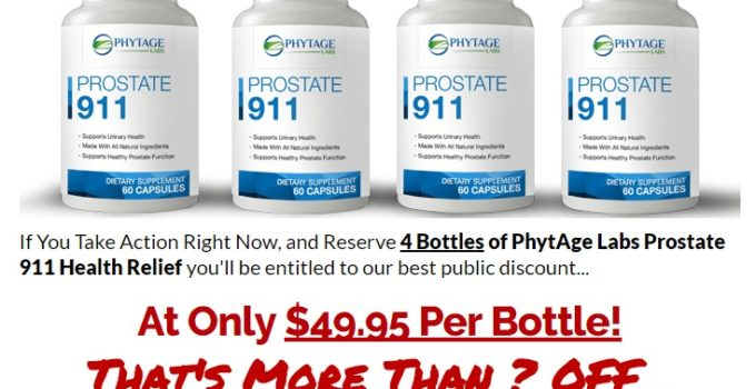 Phytage Labs Prostate 911 Pills