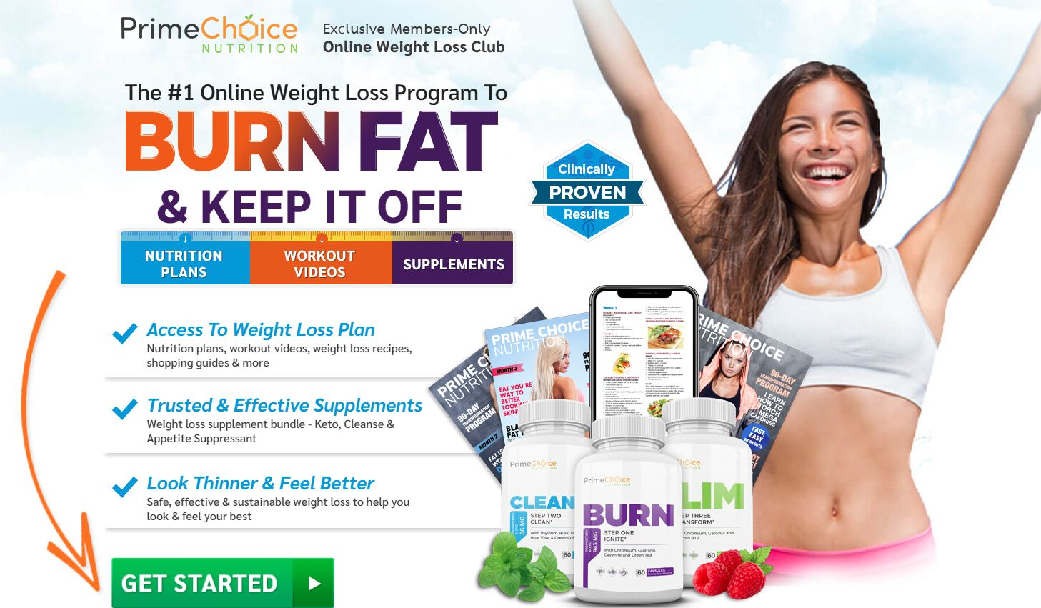 Prime Choice Nutrition Weight Loss