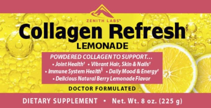 Collagen Refresh Lemonade