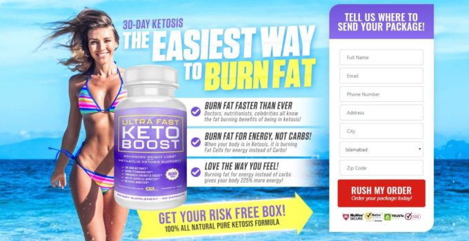 Ultra Fast Pure Keto Pills