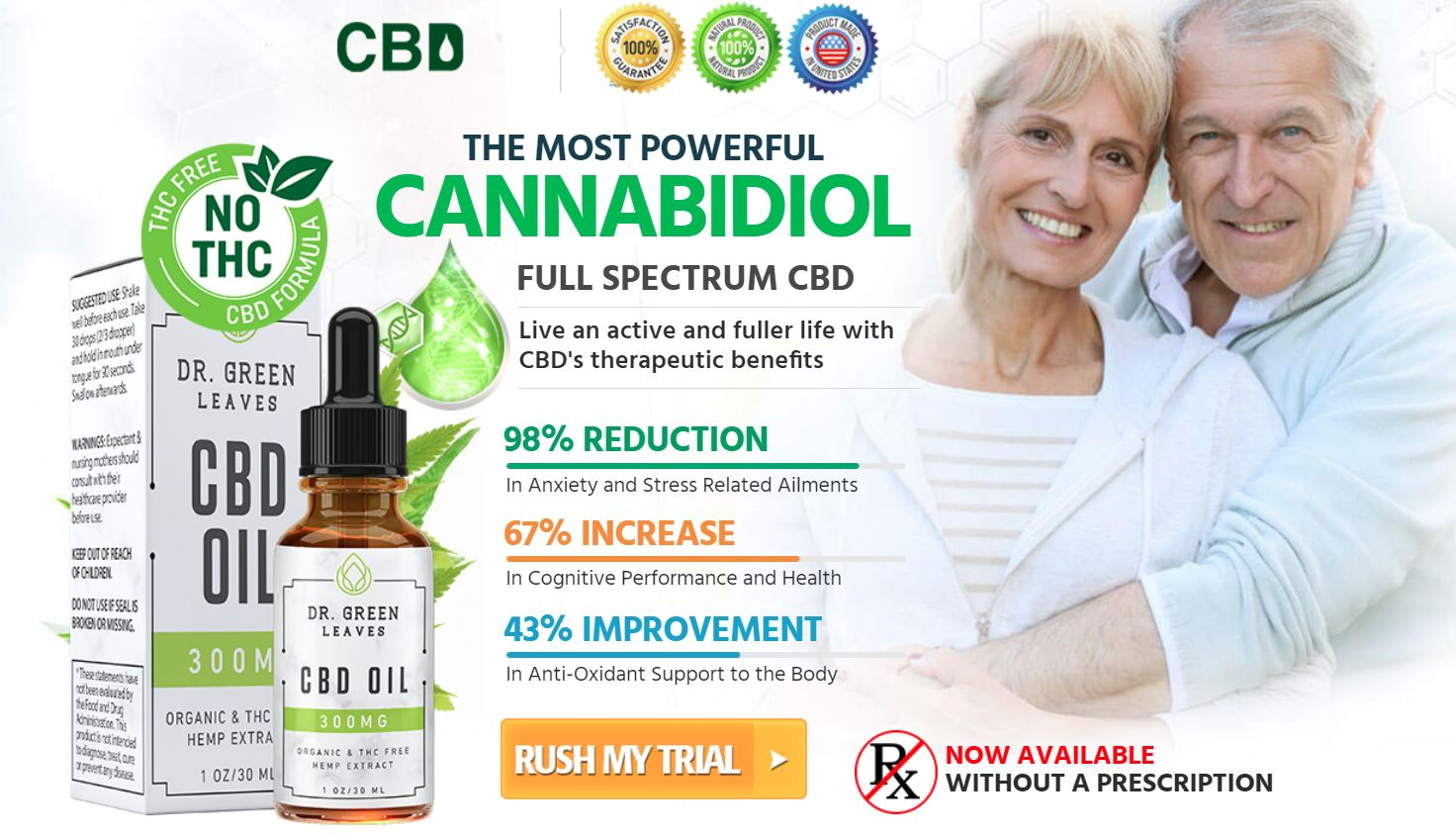 Dr. Green Leaves CBD Oil USA