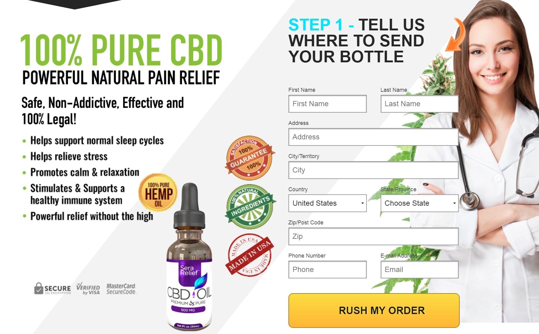 SeraRelief CBD Oil