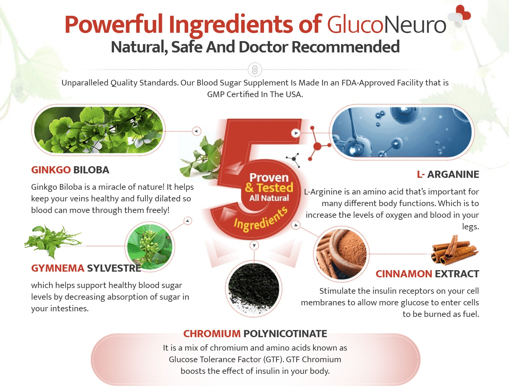 Aquil Labs Gluco Neuro+ Ingredients