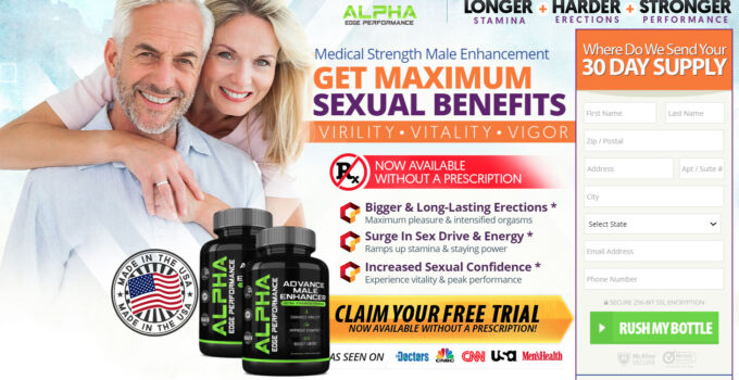 Alpha Edge Male Enhancement 1