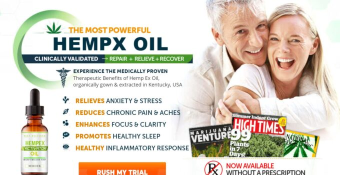 VegX Hemp Oil Final Buy Now