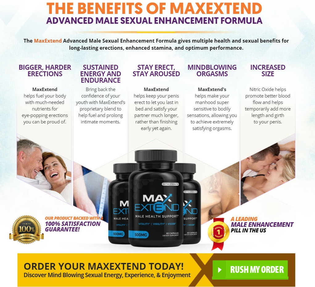 MaxExtend Male Enhnacement Benefits