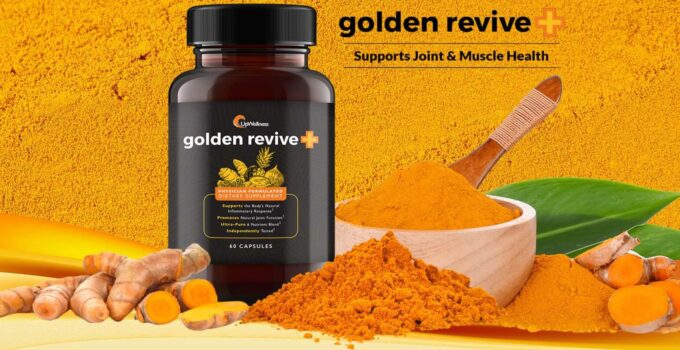 UpWellness Golden Revive+ Support Joint And Muscle Pain