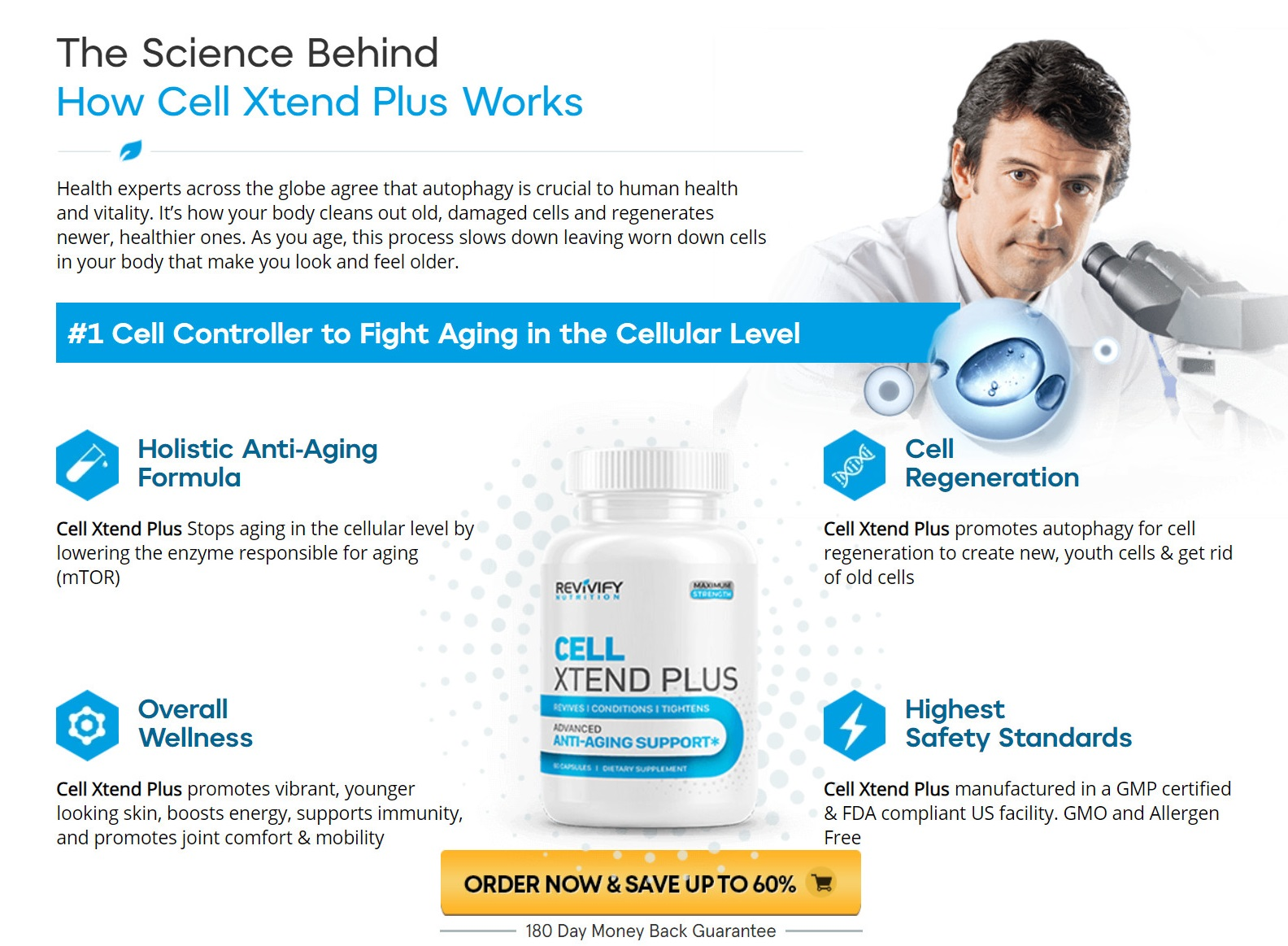 Revivify Cell Xtend Plus Science Behind
