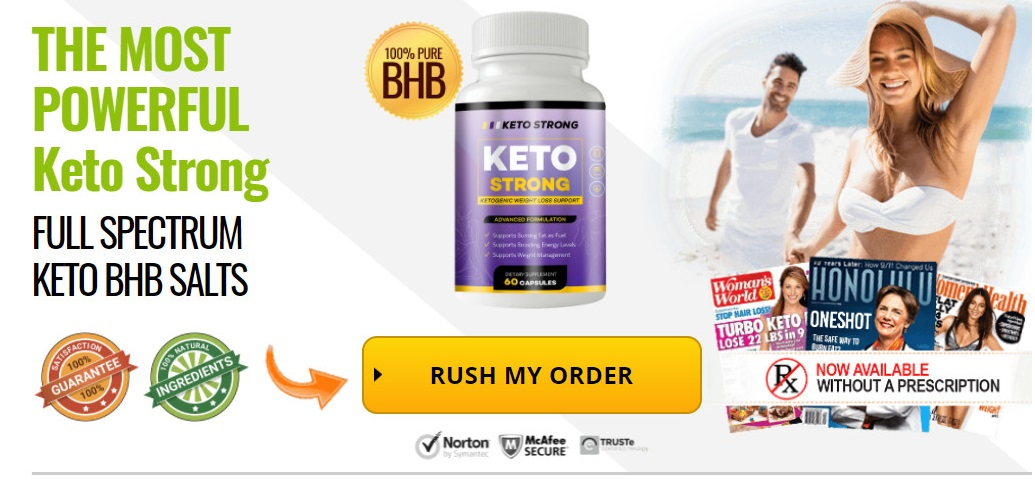 Keto Strong Order Now