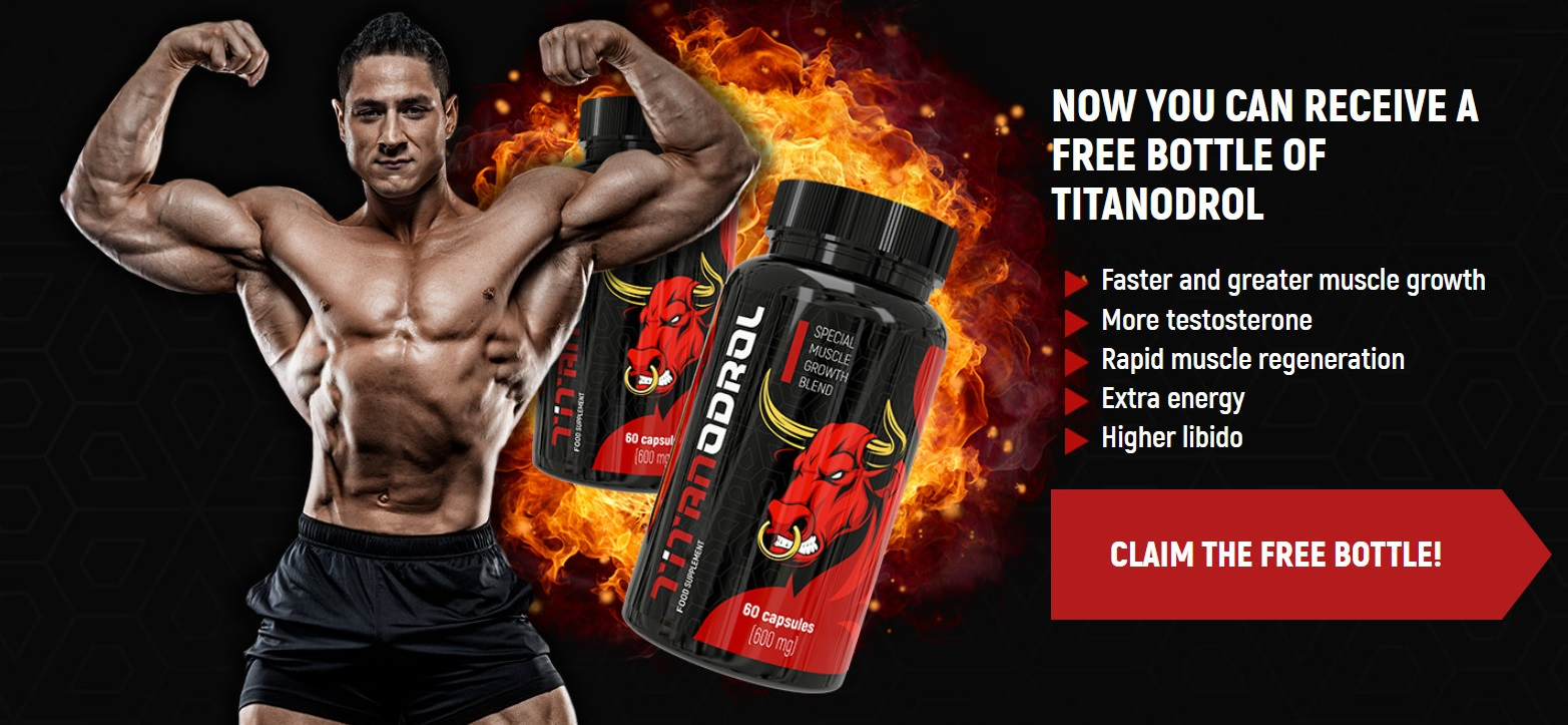 Titanodrol Muscle Official Website
